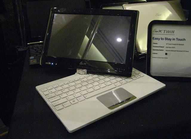 eeePc Touch : Quand le eepc devient Panel PC.