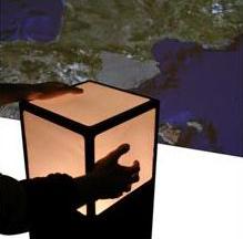 CubTile : Interface par Cube Tactile multipoints.