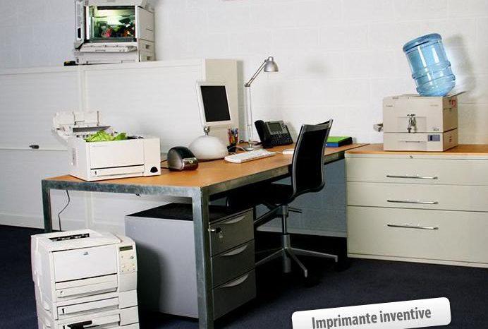 Imprimante inventive : Recycler vos veilles imprimantes.