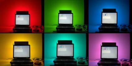 Momolight : Système Ambilight pour PC.