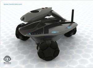 Robot de surveillance domestique
