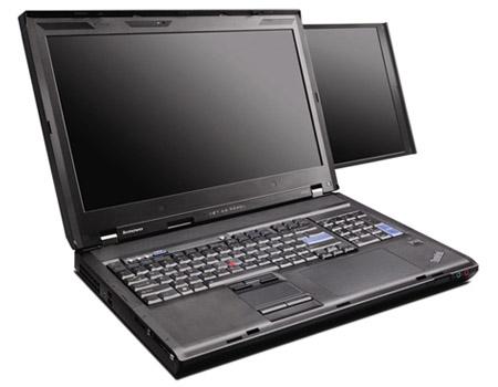 Lenovo w700ds : le pc portable bi-écran.