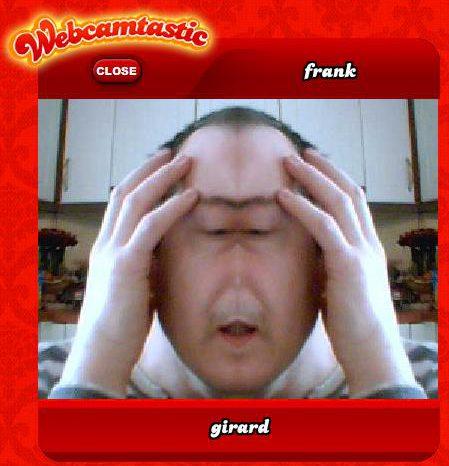 Webcamtastic : Deformer votre tête avec une webcam.