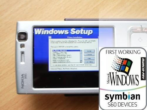 DosBox : Installer Windows 3.1 sur Nokia N95.