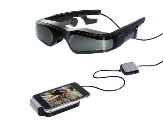 Carl Zeiss Cinemizer Plus : Des lunettes vidéo pour votre Ipod.