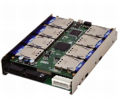 Fabriquer votre disque dur SSD IDE ou SATA à base de SD Card.