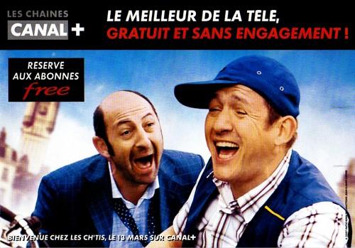 Canal+ gratuit pour les abonnés Free.