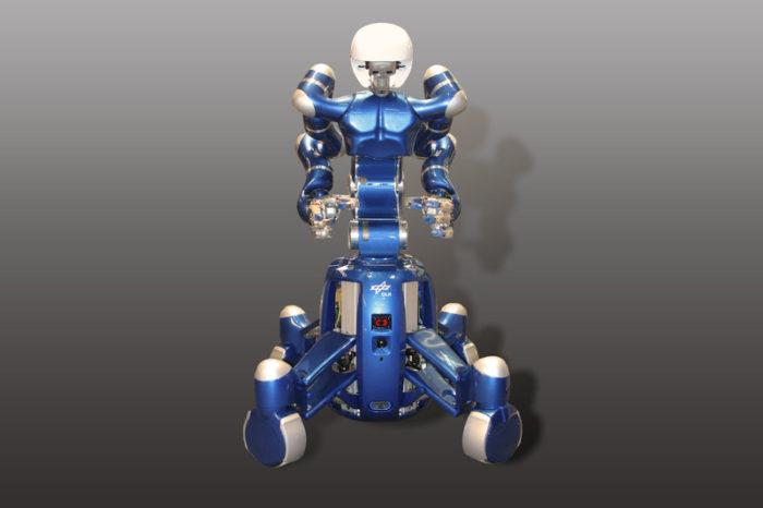 Rollin' Justin Coins : le robot qui danse Pulp Fiction