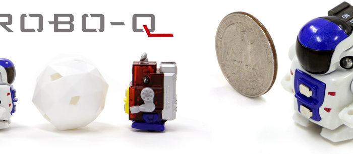 Robo-Q : Le plus petit robot Radio Commandé.