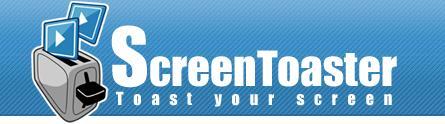 "ScreenToaster : Enregistrez de la vidéo ""capture d'écran"" en ligne."