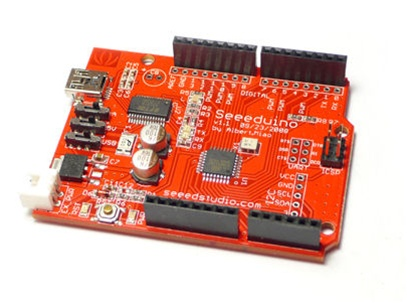 Seeeduino : Un kit compatible Arduino en software et hardware.