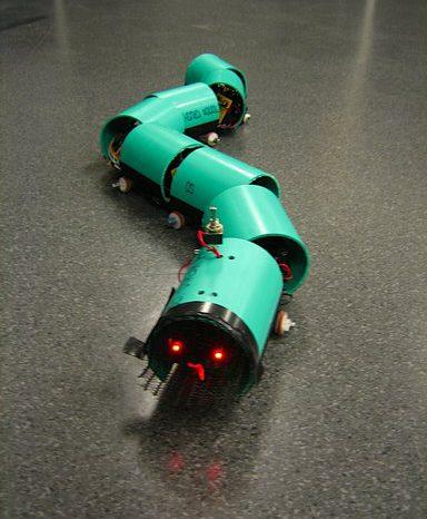 Robotique : le robot Serpent.