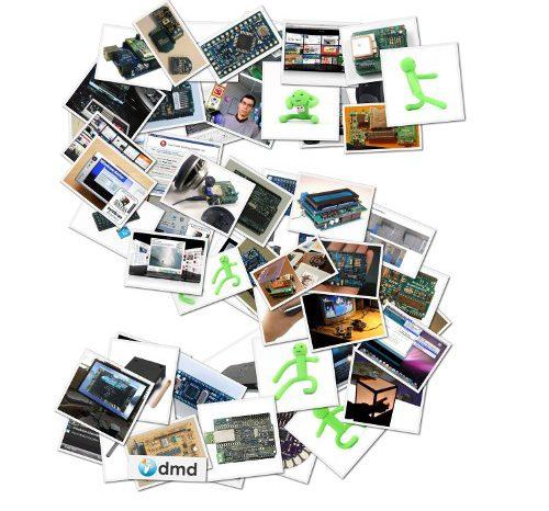 Shape Collage : Faites un collage avec vos photos.
