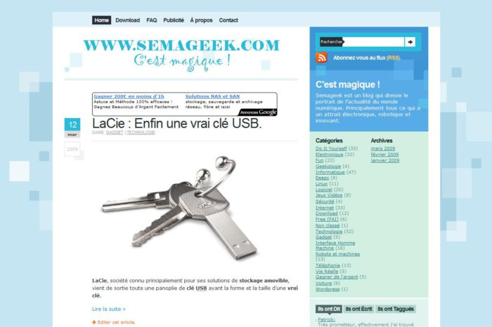 ScreenGrab : Un plugin pour Firefox de capture d'écran.