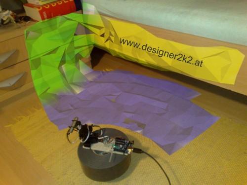 Fabriquer un scanner laser 3D à base de Arduino.