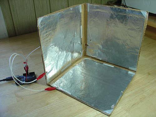Controleur 3D Capacitif à base d'Arduino.