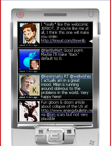 PockeTwit : Un client Twitter sous Windows Mobile.
