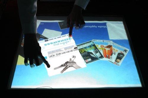 Fabriquer vous même votre Table Ordinateur Multitouch à la microsoft Surface.