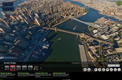 CyberVoyage : Visite aérienne virtuelle de New York.