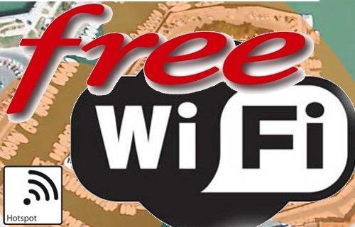 Hotspot Free Wifi : Le reseau communautaire Wifi de Free.