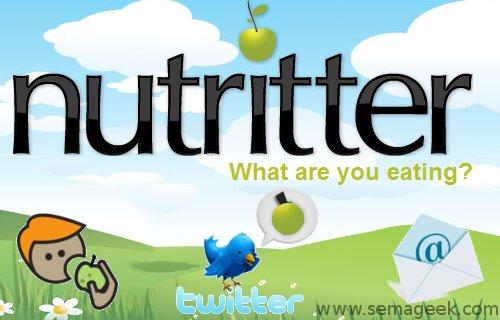 Nutritter : Votre coach nutrition via Twitter.