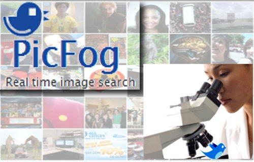 PicFog : Un moteur de recherche d'image Twitter temps réel.