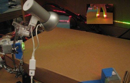 Fabriquer une table tactile multi-point (en carton).