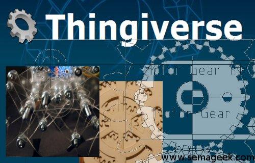 Thingiverse : Le site de partage de Design 3D.