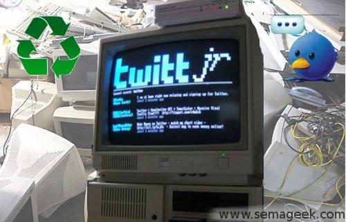 TwittJr : Un client Twitter de la préhistoire.