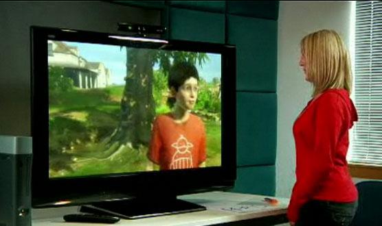 """Microsoft """"Project Natal"""" : Le périphérique de commande, c'est vous !"""