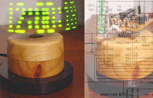 Fabriquer une horloge POV à moindre coût.
