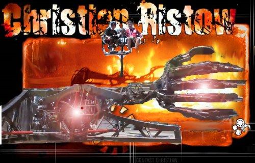 La main géante robotisée de Christian Ristow.