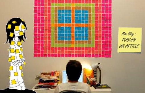 Pixélisez votre vie avec des Post-It.