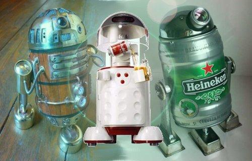 Les Robots et la Bière : une longue histoire d'amour...
