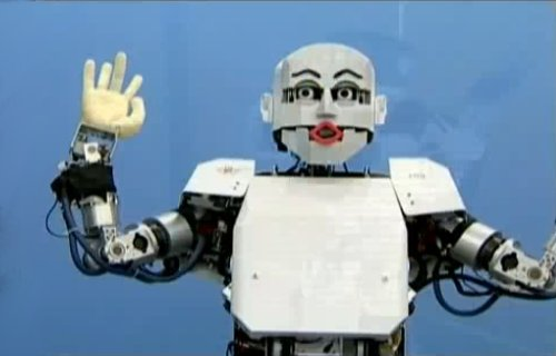 Un robot japonais qui ne manque pas d'expression.