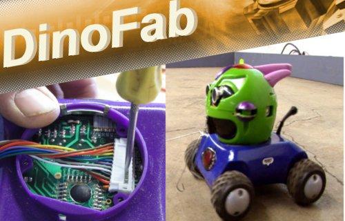 Transformer un jouet télécommandé en robot autonome.
