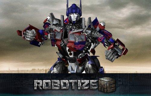 Transformez vous en robot Transformer.