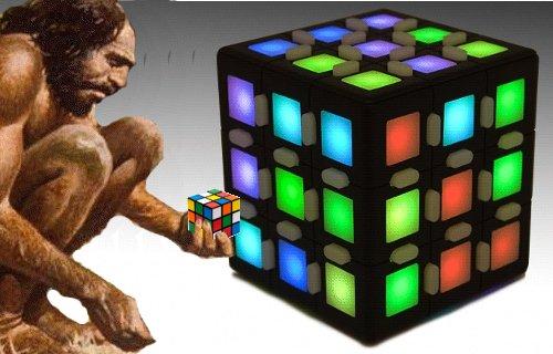 Même le Rubik's Cube, n'échape pas à l'évolution numérique.