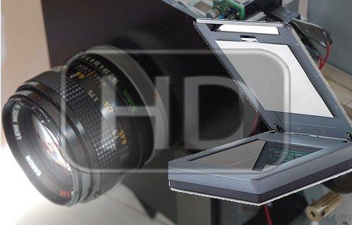 Un Japonais construit un scanner 130 MégaPixels pour presque rien.