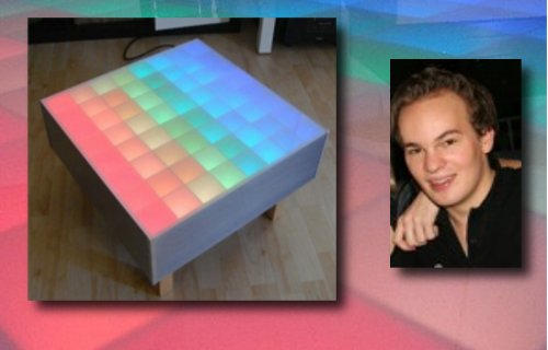 La Table Basse RGB 64 pixels d'Edo Kriegsmann.