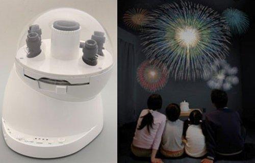 Sega Toy crée le feu d'artifice d'intérieur.