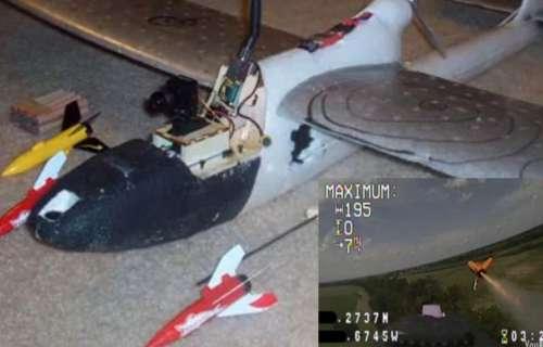 Attaquez vos voisins avec un avion radio commandé armé de roquettes.