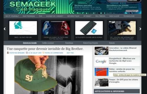 Semageek : Bilan de blogueur amateur après 6 mois.