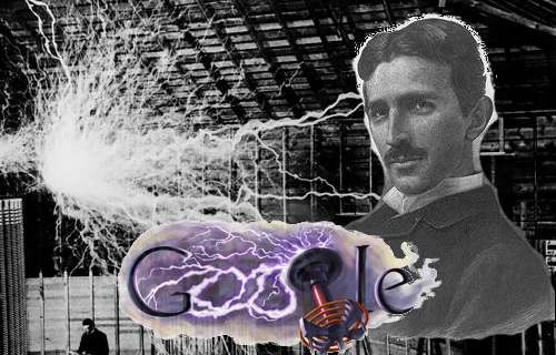 Hommage pour l'anniversaire de Nikola Tesla.