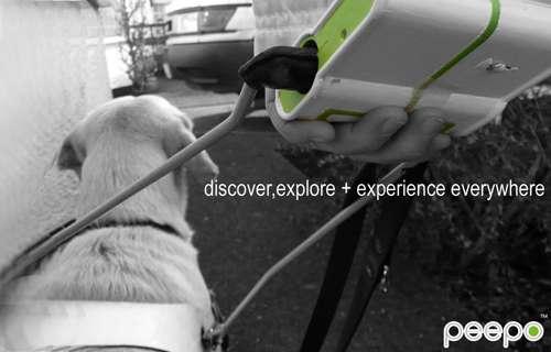 Peepo : Un GPS pour les chiens d'aveugles.