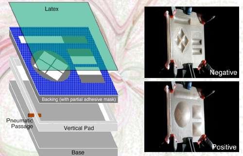 Innovation : l'écran tactile devient modulable en 3 dimensions.