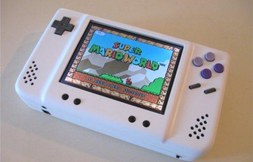 Fabriquer une Super Nintendo Portable.