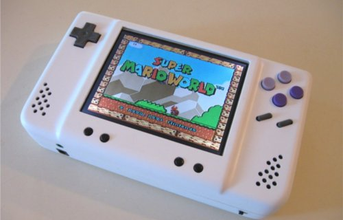 snes portable Fabriquer une Super Nintendo Portable.