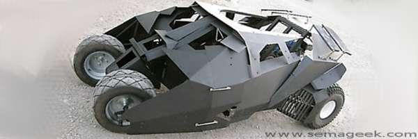 DIY : Fabriquer la voiture de Batman.