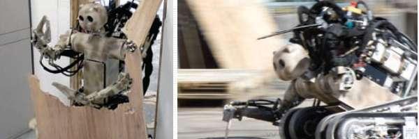 BEAR : Un robot qui surgit à votre rescousse.